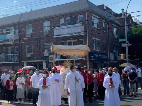 (4) Corpus Christi Procession 6-6-2021